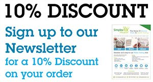 Sign up to our Newsletter for 10% off