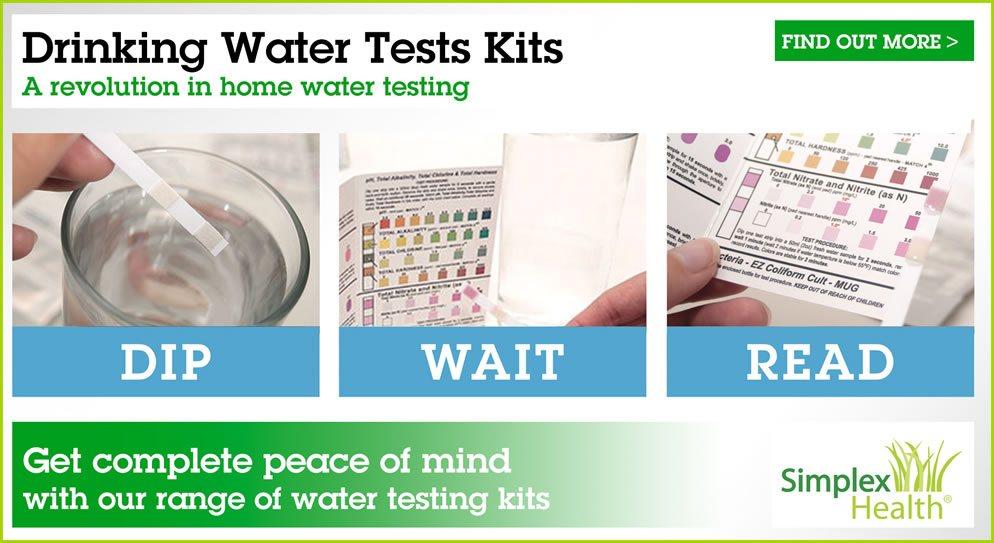 Drinking Water Test Kits Amp Water Quality Testing Kits Ph