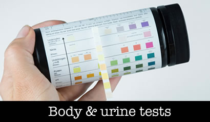 Body Urine Test Strips