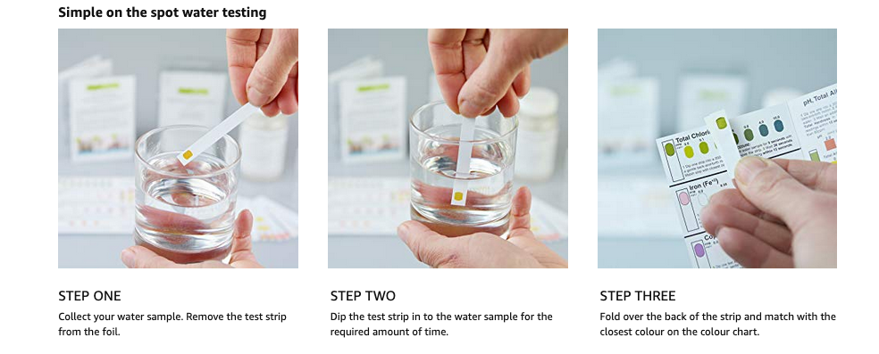 SimplexHealth Water Test Kit