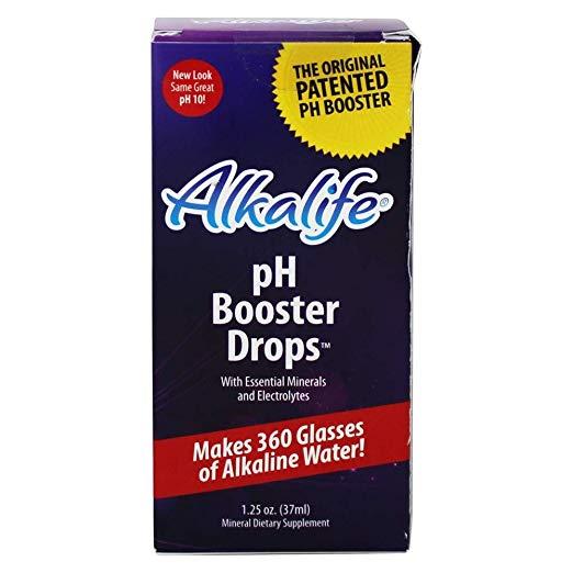 Alkalife Alkaline Water pH Drops 2 months supply