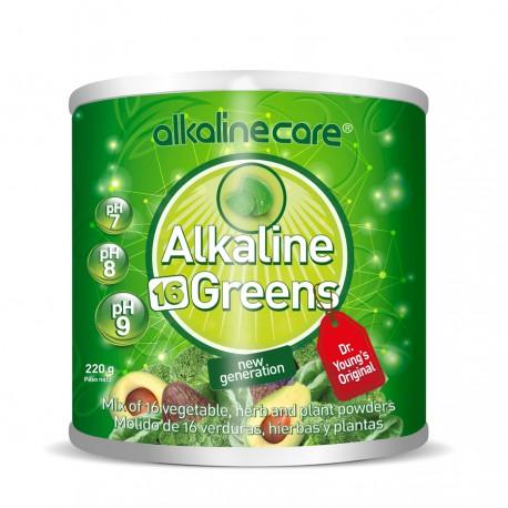 AlkalineCare Alkaline 16 Greens 1/2Ib (220g)