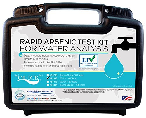 Arsenic Quick Test 0-500ppb (100 Tests)