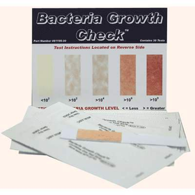 Bacteria Growth Check (30 strips)