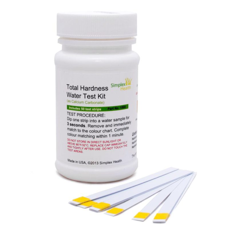 SimplexHealth Total Hardness Test Strips (50 strips)