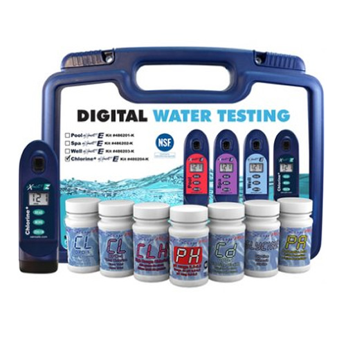 eXact EZ Photometer Digital Water Tester Chlorine+ Starter Kit