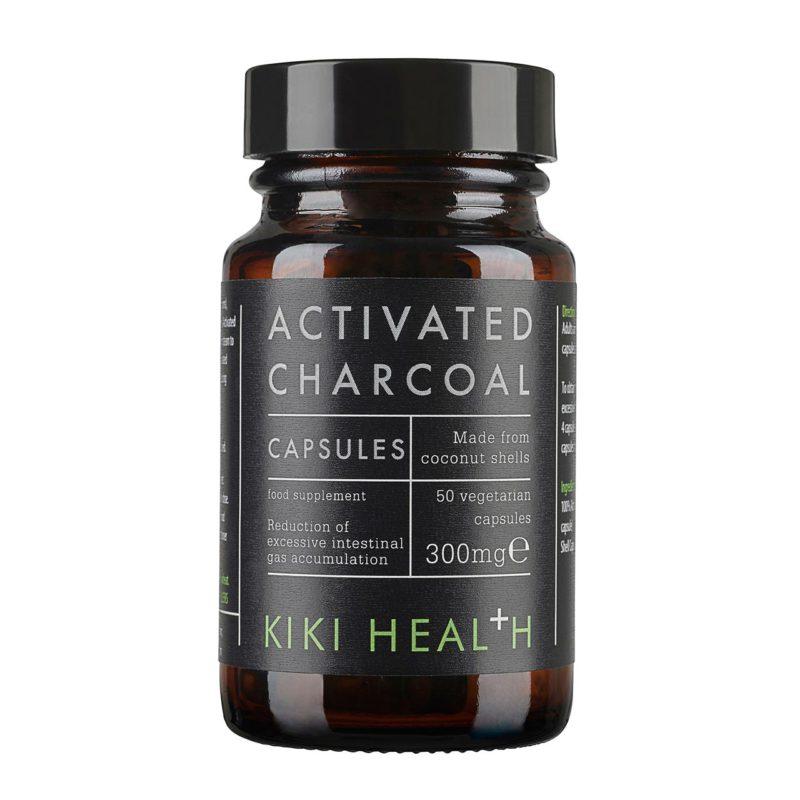 Kiki Health Activated Charcol (50 Vegicaps)