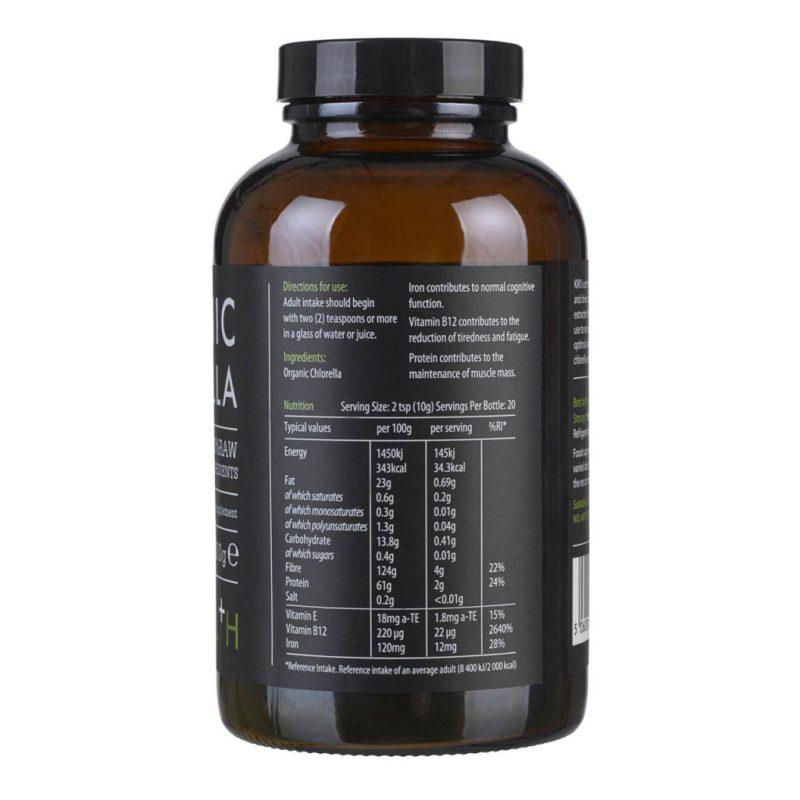 Chlorella Powder, Organic (200g)