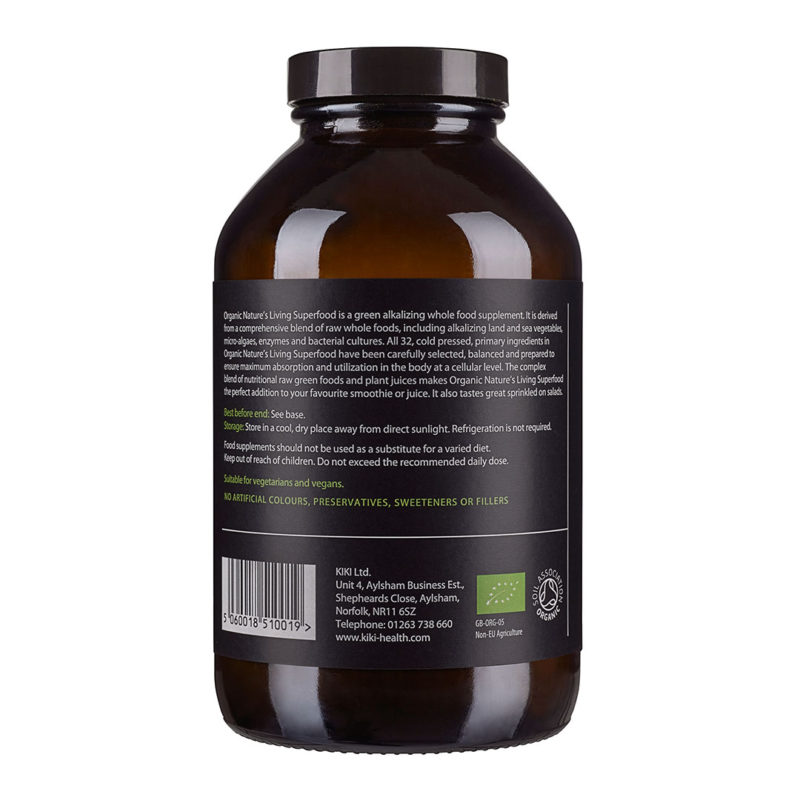 Nature's Living Green Superfood by Kiki Health (300g)