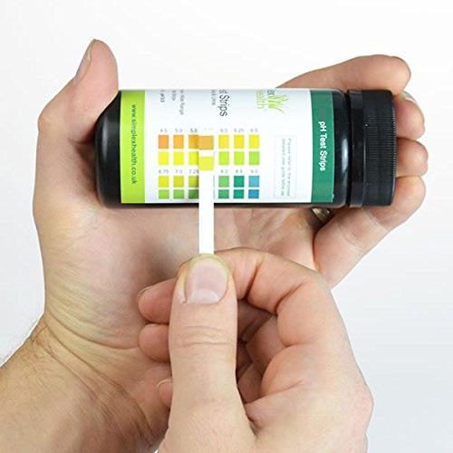 NEW pH Test Strips 4.5 - 9.0 (125 strips) for Urine & Saliva