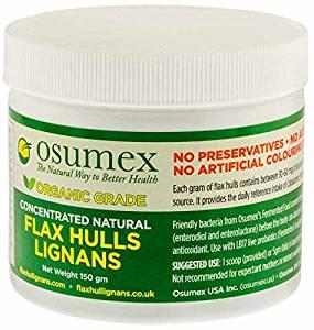 Osumex Natural Flax Hull Lignans (150g)