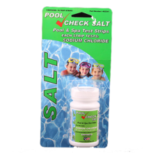 Pool Check Salt Water Test Strips for Spas and Pools