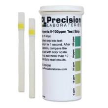 Ammonia Test Strips 0-100ppm (25 Strips)