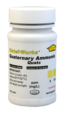 "Quaternary ""Quats"" Ammonia 0-1000ppm (50 tests)"