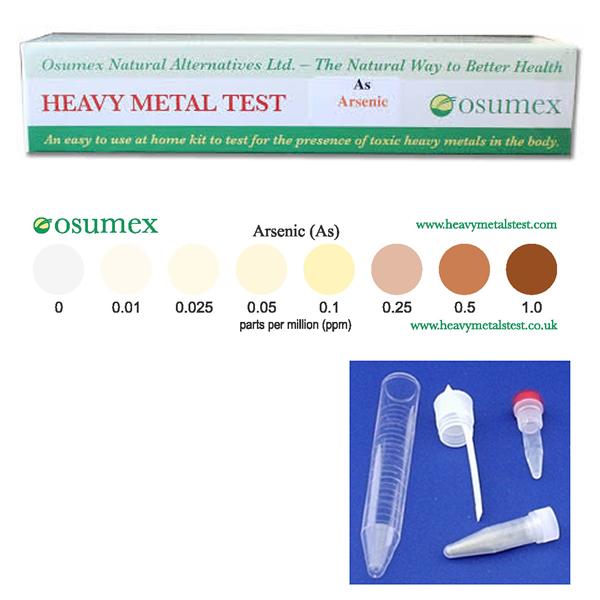 Quick Test Kit for Arsenic 0-1ppm (1 test)