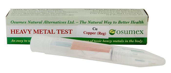 Quick Test Kit for Copper (Cu) (1 test)