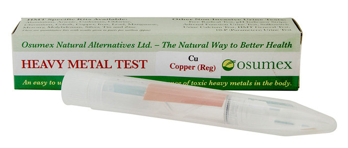 Quick Test Kit for Copper (Cu) Exp 06/21