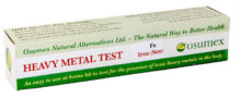 Quick Test Kit for Iron sensitive (Fe) (1 test)