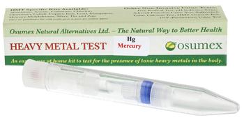 Quick Test Kit for Mercury (Hg) (1 test)