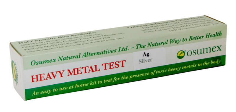 Quick Test Kit for Silver (Ag) (1 test)