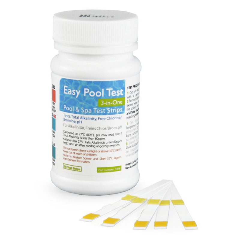 SimplexHealth Easy Pool Test 3-in-1 (50 tests)
