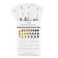 Water Test Kit pH, Alkalinity, Hardness (3-in-1) (5 strips)