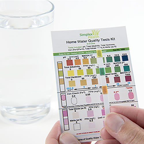 SimplexHealth Water Test Kit (6-in-One)