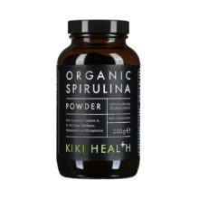 Spirulina Powder, Organic by Kiki Health (200g)