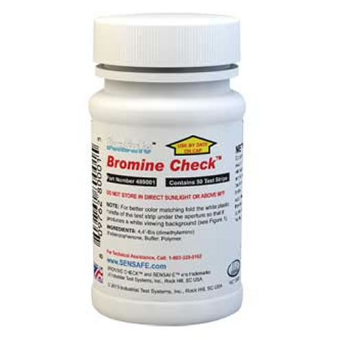 Water Bromine Check (50 strips)