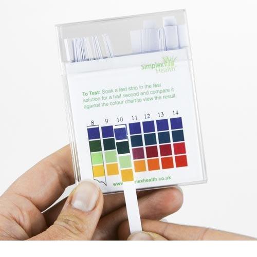 Water Full Range pH Test Strips 0-14  (100 strips)