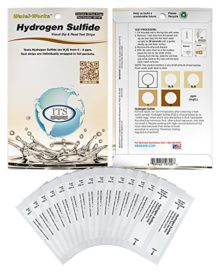 Water Hydrogen Sulfide Low 0-2ppm (30 strips)