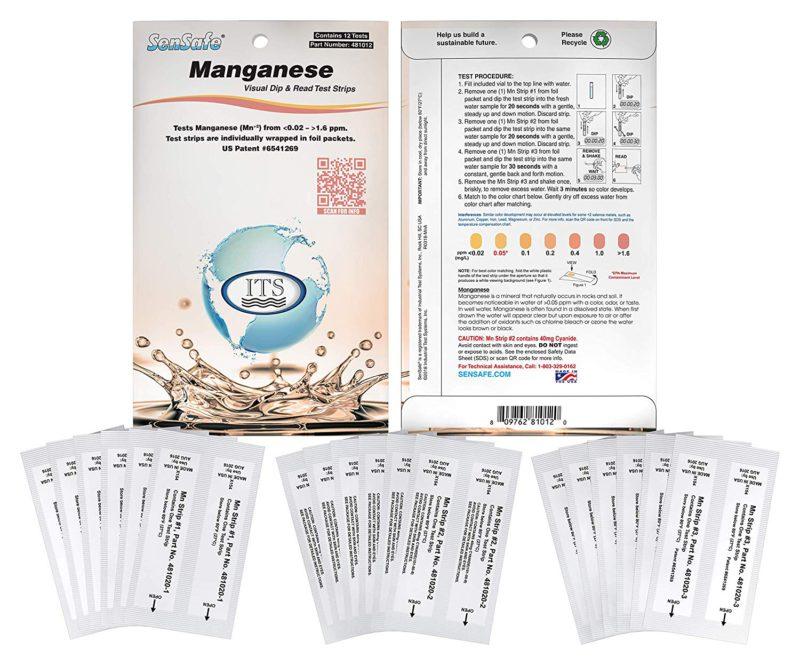 Water Manganese Check 0.02-1.6ppm (12 tests)