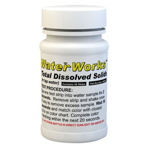 TDS Water Test Strips (Total Dissolved Solids) (50 strips)