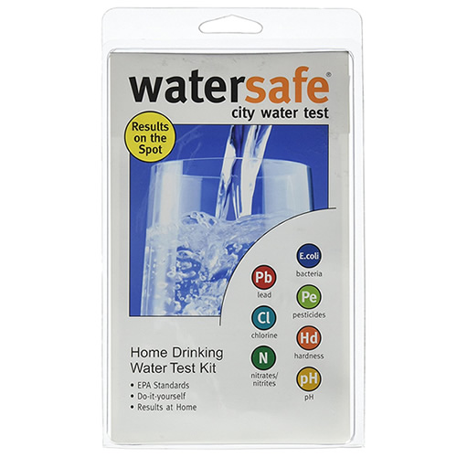 Watersafe City Water Test Kit 8-in-One